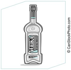 Vodka - Bottle of vodka