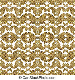 Geometric Stylized Butterflies Pattern - Digital photo...