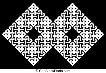 Asian or Celtic style knot - Asian Chinese, Korean or...