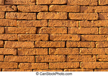 background, yellow brick - Background, yellow brick in the...
