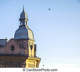 Wawel hill with cathedral and castle in Krakow