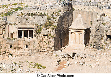 Tombs of Absalom and Zachariah jerusalem