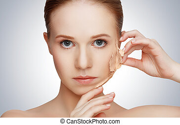 beauty concept rejuvenation, renewal, skin care, skin...