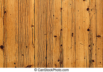 brown wooden boards with knots background