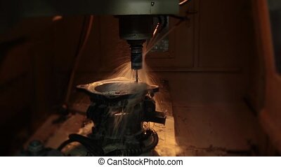 cnc milling process - cnc milling with water process