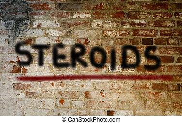 Steroid Hormones Concept