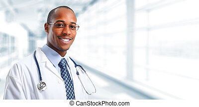 Medical doctor man. - African-American Medical doctor man...