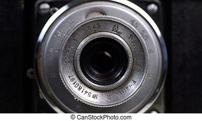 Photographer Fingers Focus Lens Close Up