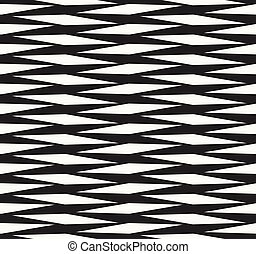 Structure of repeating rhombuses, African ancient fabric design - vector seamless pattern