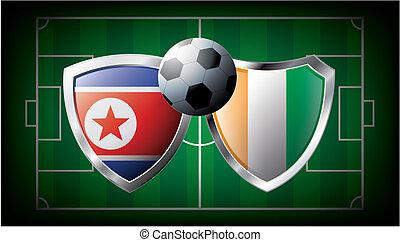 Korea DPR versus Cote d I voire