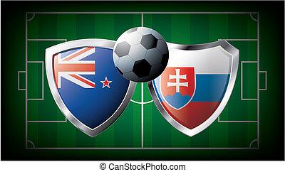 New zealand versus Slovakia