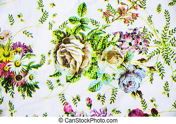 Spring style seamless background pattern - For easy making seamless pattern use it for filling any contours