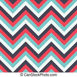 Seamless chevron zig zag pattern texture. Vector Illustration.