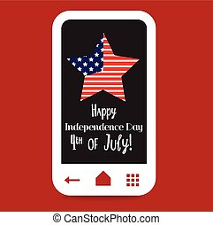 Happy 4th of July, USA Independence