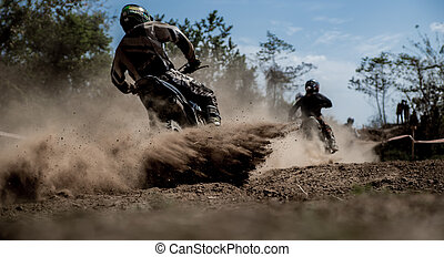 race chase - Motocross chase