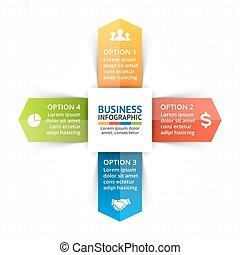 Vector circle arrows infographic, diagram, graph,...
