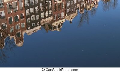 Amsterdam The Netherlands Holland - Urban landscape, city...