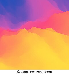 Colorful Abstract Background. Design Template.