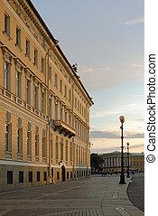 West wing of General Staff Building in Saint-Petersburg in...