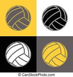 Volleyball-background-sport