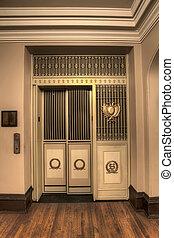 Old Antique Elevator