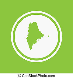 Map of the the state Maine - A Map of the the state Maine