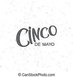 Cinco de Mayo  illustration.