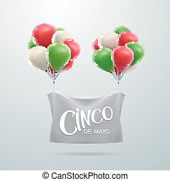 Cinco de Mayo vector illustration 5 of May holiday vector...