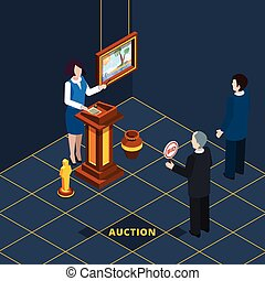 Isometric Auction Process Abstract - Isometric auction...
