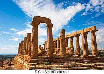 Grek, świątynia,