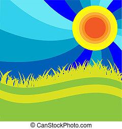 Texture sun