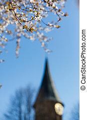 primavera, cidade