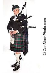 escocés, Gaitas