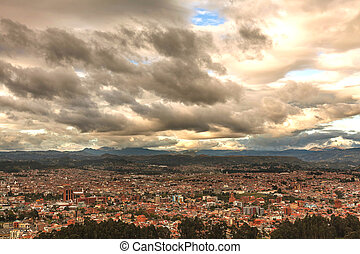 Aerial View Of Cuenca City, Ecuador - Aerial View Of Cuenca...