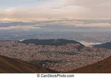 Quito Is Located In The Northern Highlands Of Ecuador In The...