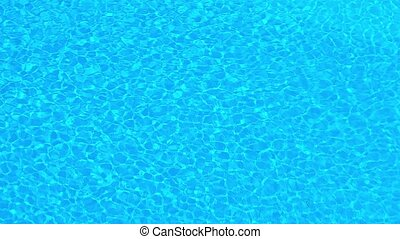 Rippling Water on the Surface of a Swimming Pool - Loopable...