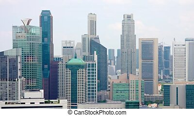 Contemporary Highrise Architecture of Singapore's Famous...
