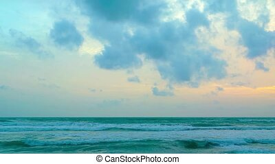 """""""Small, gentle waves on the beach."""""""