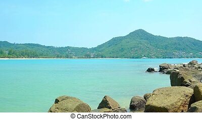 Warm Water of a Tropical Bay in Southeast Asia - Warm, clean...