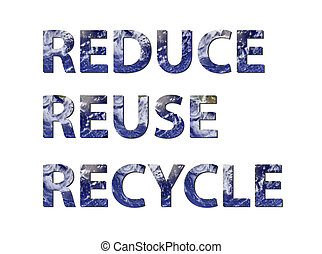 Reduce, reuse, recycle water