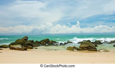 quot;Rocky Tropical Beach Paradise, with Soundquot; - Gentle...