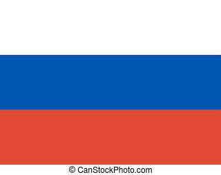 National official flag of the Russian Federation background
