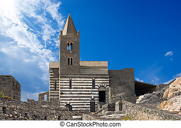 San Pietro Church of Portovenere - Italy - The ancient...