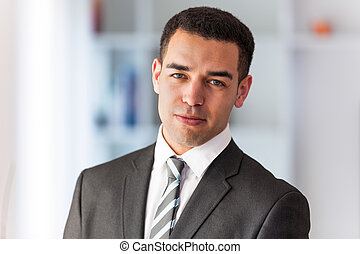 Latin American business man  portrait