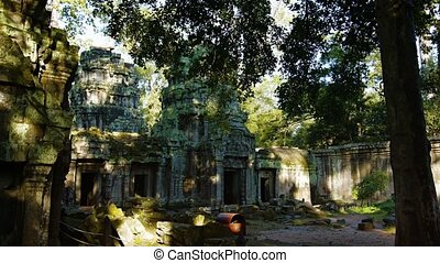 """Ancient Temple Ruin of Ta Prohm near Siem Reap, Cambodia"" -..."