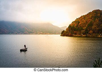 Kawaguchiko lake japan
