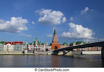 Embankment in Yoshkar-Ola Russia - Embankment Bruges and the...
