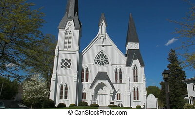 historic church new york 1865 - architecture of historic...