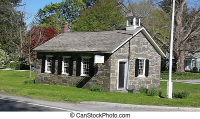 one room schoolhouse bedford - historic one room schoolhouse...