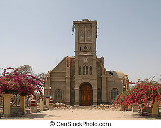 Broken Church after Earthquake, Ica, Peru, 2007